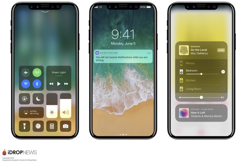 Persistent Software Problems With iPhone 8 Wireless Charging and 3D Sensor Causing 'Panic' at Apple