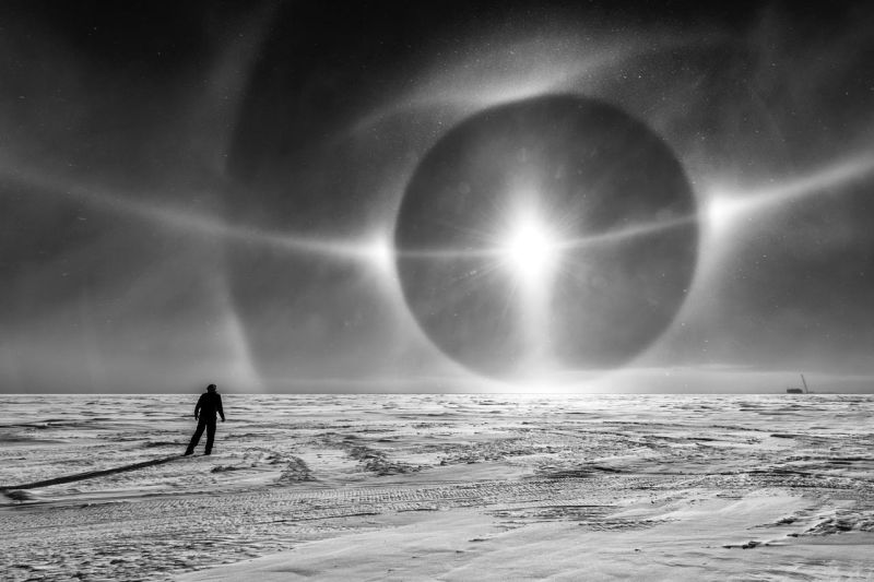 The Sky in Antarctica Looks Like Something Out of Science Fiction