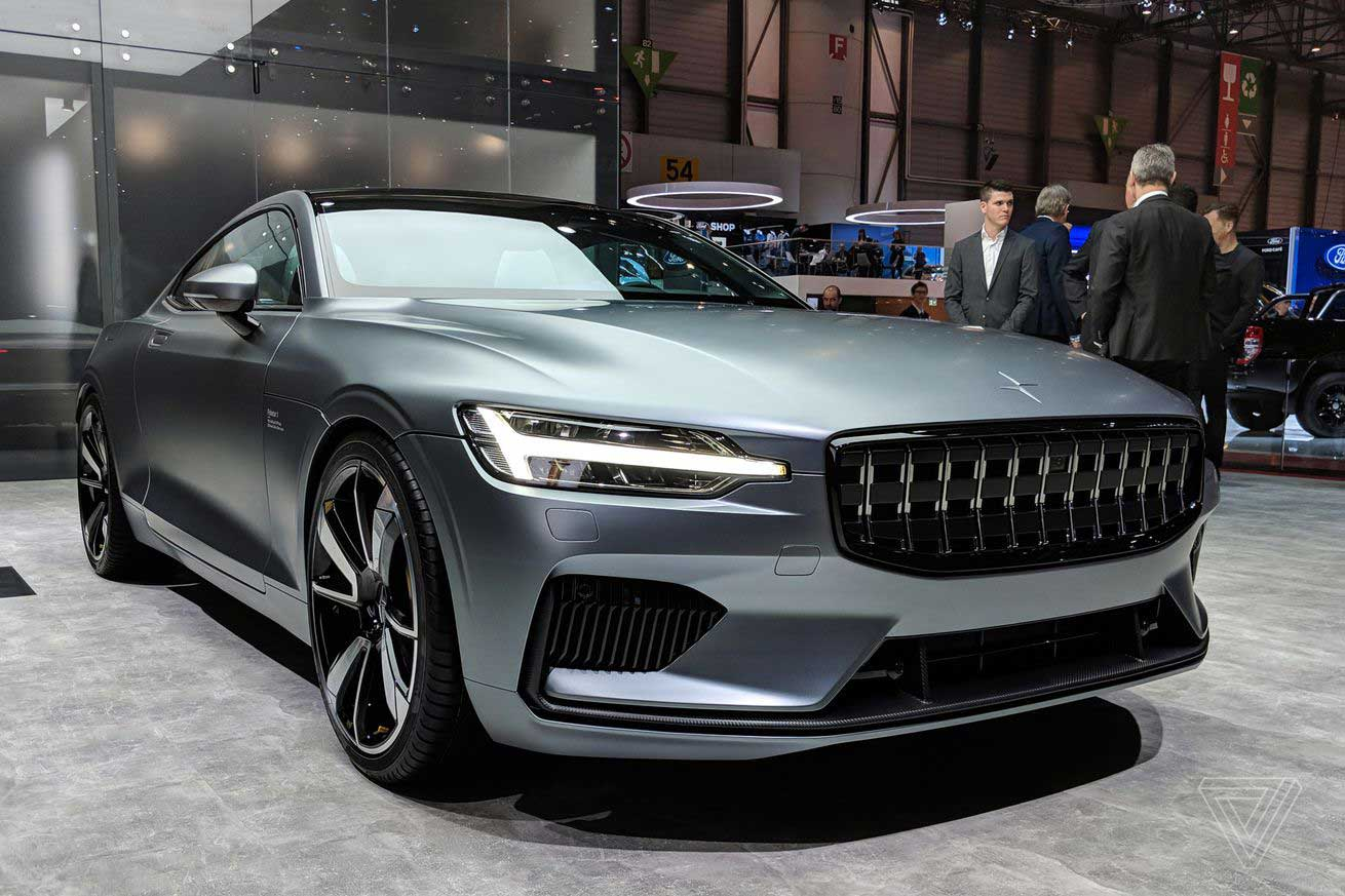 Polestar 1, Volvo's new turbocharged electric coupe